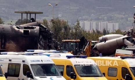 Pesawat Jatuh di Aljazair, 257 Orang Tewas