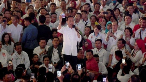 Video Surat Suara Tercoblos di Malaysia Viral, Jokowi: Enggak Usah Diangkat Isu-isu yang Enggak Jelas