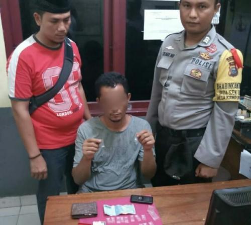 Kedapatan Akan Pesta Narkoba, Pria di Pelalawan Digerebek, Didapati 19 Paket Sabu