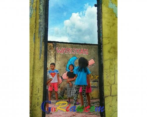 Kampung Bandar, Kota Tua di Pekanbaru yang Kini Lebih Berwarna