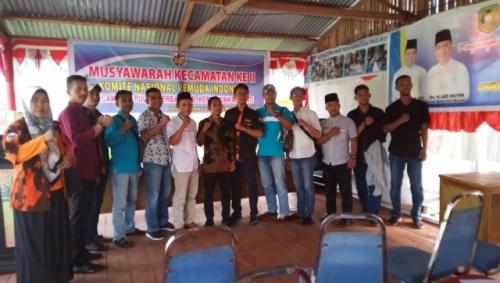 Hairun Nizat Nakhodai PK KNPI Pulau Merbau Periode 2019-2022