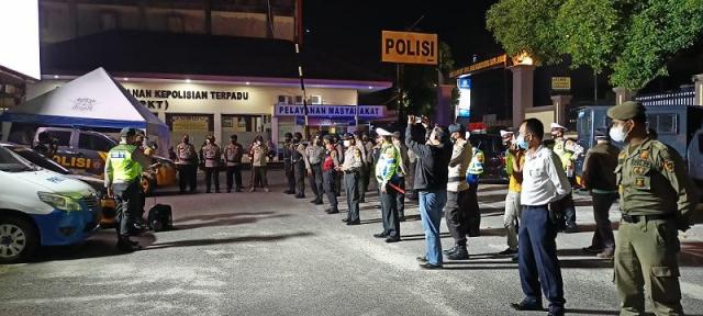 Tingkatkan Keamanan dan Kondusifitas, Polresta Pekanbaru Gelar Patroli