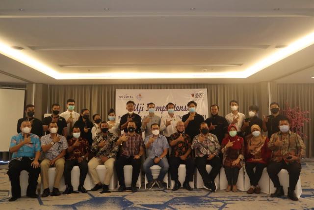 320 Asesi Bidang Restoran dan Perhotelan Jalani Ujikom LSP Maestro Indonesia, Disbudpar Pekanbaru: Kita Harapkan Peningkatan Kualitas