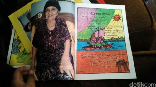 Teladan dari Ibu Budi Siti Rahmani Rauf, Membaca Hingga Akhir Hayat