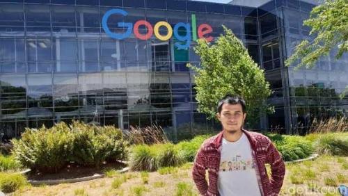 Pemuda Riau Ini Sukses Lewati Ketatnya Persaingan Masuk Kerja di Kantor Pusat Google Amerika, Ini Kisahnya..