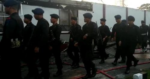 Sebanyak 290 Personil Polda Riau Dikerahkan Untuk Pengamanan di Rutan Kelas II Siak