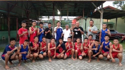 Jelang Kejurda 2019 Mendatang, Cabor Tinju Kepulauan Meranti Jalani Try Out dan Latihan Bersama di PPLP Riau