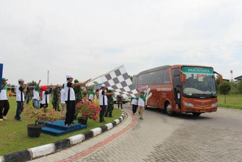 Kloter Pertama Mudik Gratis PTPN V ke Medan Berangkatkan 400 dari Total 1000 Pemudik
