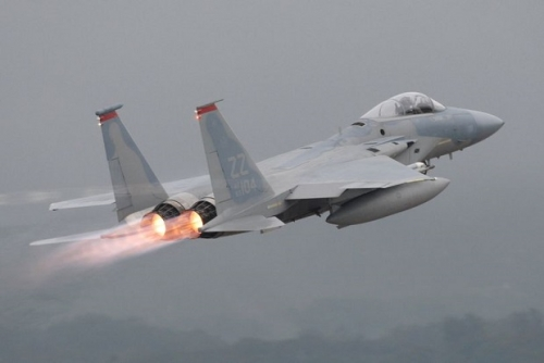 Jet Tempur F-15 Milik AU AS Jatuh di Perairan Jepang, Nasib Pilot Belum Diketahui