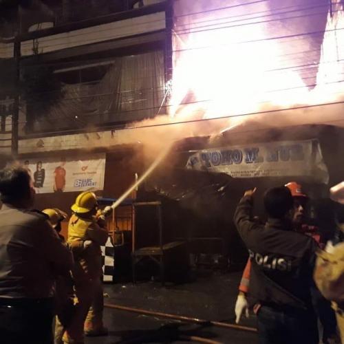 Lima Ruko dan 5 Rumah di Jalan Sudirman Duri Terbakar, Kerugian Capai Miliaran Rupiah