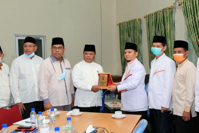 Kunjungi MUI Riau, PKS Harap Bimbingan dan Masukan, Ilyas Husti: Semoga PKS Semakin Jaya