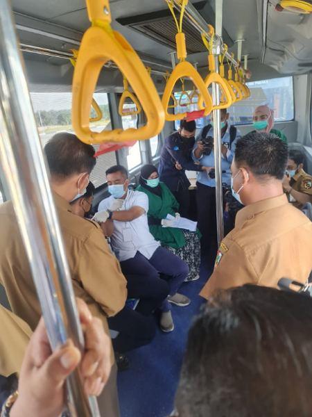 Bus Vaksinasi Covid-19 Dioperasikan Hingga Desember 2021, Jamil: Sarana dan Prasarana Masih Diperhitungkan