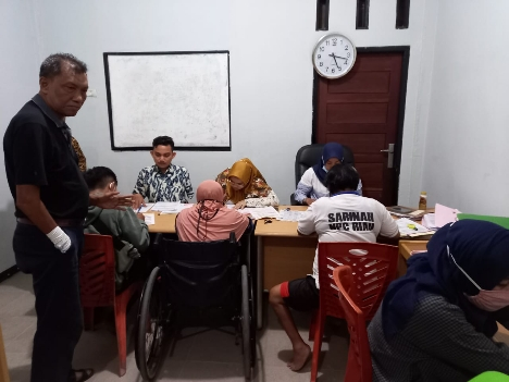 Kerja Sama dengan Bank Riau Kepri, Pengurus dan Atlet NPC Riau Buka Rekening Tabungan