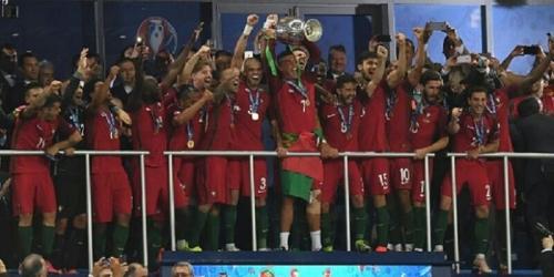 Tundukkan Prancis, Portugal Juara Piala Eropa untuk Pertama Kalinya