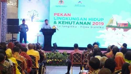 Dibuka Wapres, Hari Ini Pemprov Riau dan PT RAPP, Tampil di Pekan LHK 2019
