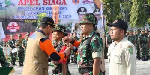 BNPB Kirim 1.500 Personel Gabungan untuk Cegah Karhutla di Riau