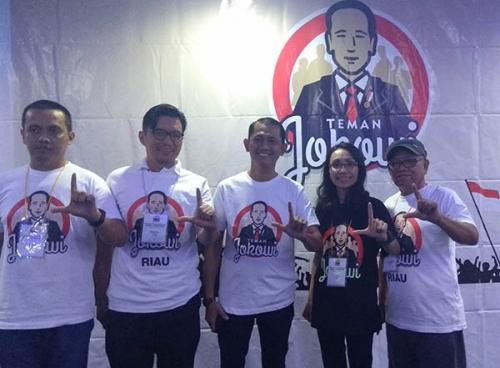 Sasar Kaum Milenial dan Petani, Teman Jokowi Riau Mulai Panaskan Mesin Kampanye Pilpres