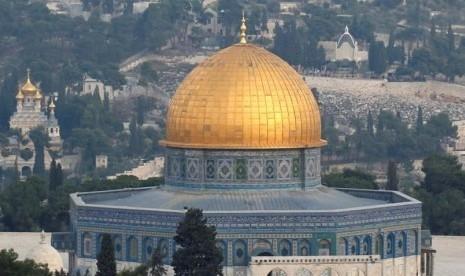 Bentrok dengan Polisi Israel di Kompleks Masjid Al-Aqsha Saat Shalat Idul Adha, 14 Muslim Palestina Terluka
