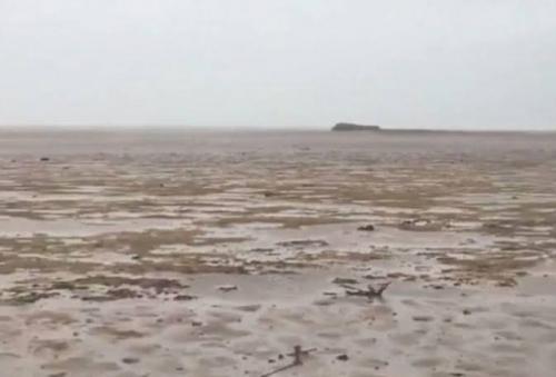 Mengerikan, Air Laut di Bahama Mandadak Kering Disedot Badai Irma