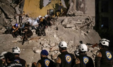 Pasukan Suriah dan Sekutu Bombardir Wilayah Berpenduduk 2,9 Juta Jiwa, PBB: Ini Bencana Kemanusiaan Terburuk Abad 21