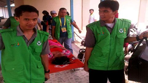 Pingsan, Paralimpian Andalan Kalteng Gagal Raih Medali