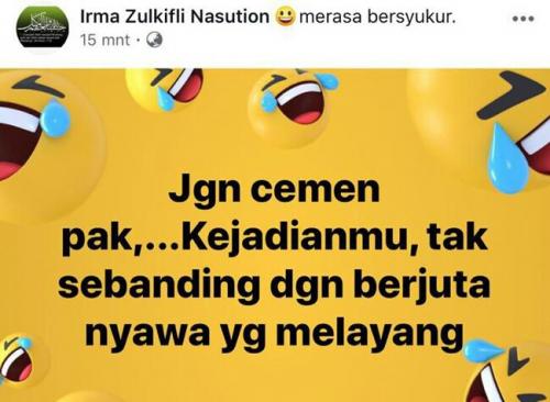 Ini Komentar Istrinya Terkait Wiranto di Facebook yang Sebabkan Dandim Kendari Dicopot dan Ditahan