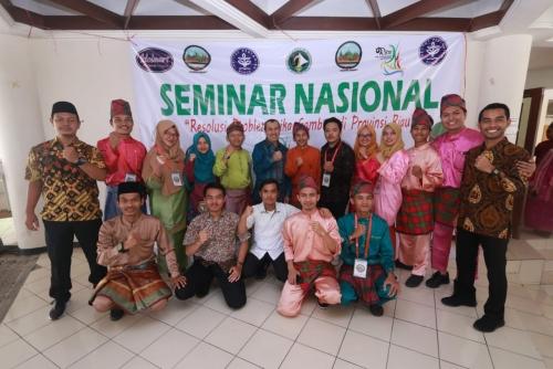 Menjadi Keynote Speaker, Drs H Syamsuar MSi Sebut Tata Kelola Gambut Riau Perlu Dibenahi