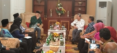 Raja Muda Perlis Puji Pengembangan Pariwisata di Riau