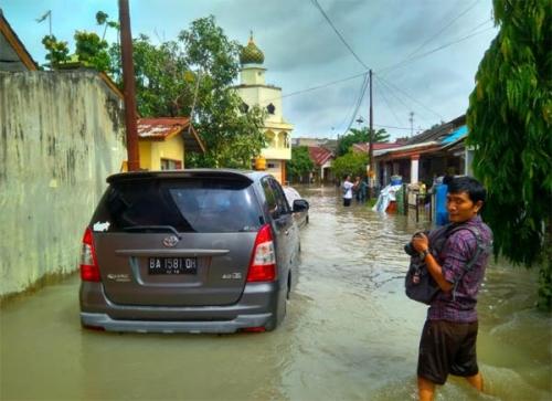 Banjir Rendam Perumahan, Dinas PUPR Pekanbaru: Drainase di Pemukiman Tanggungjawab Pengembang