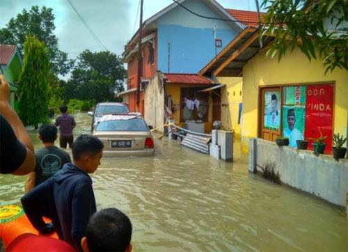 Banyak Pemukiman Tergenang, Banjir di Pekanbaru Hari ini yang Terparah