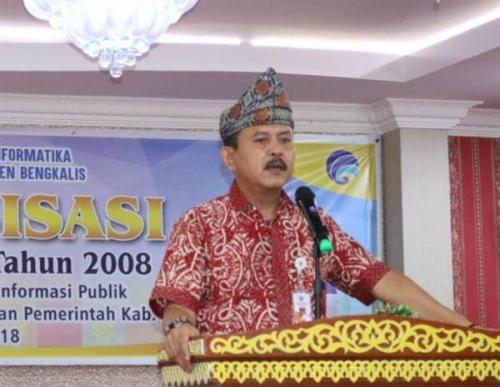 Ketua KI Riau Apresiasi PPID Bengkalis