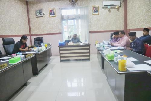 Komisi II DPRD Kepulauan Meranti Raker Bersama BPKAD Bahas Progres dan Realisasi Kegiatan