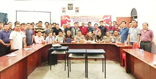 Jelang Imlek, Kapolres Silaturahmi dengan Tokoh Masyarakat Tionghoa di Kepulauan Meranti