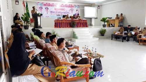 Musrenbang Kecamatan Rangsang, Tunjiarto: Jangan Beri Kami Bibit