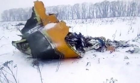 Pesawat Jatuh Sesaat Usai Lepas Landas, 71 Penumpang Tewas, Jasad Korban Berserakan 1 Kilometer