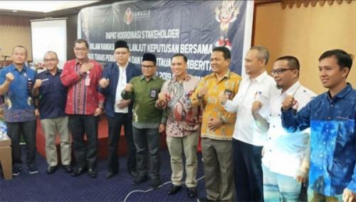 Cegah Pelanggaran Iklan Kampanye di Media, Bawaslu Riau Gelar MoU Bersama KPID dan KPU Riau