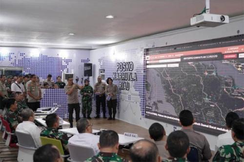 Menuai Pujian dari Panglima TNI dan Kapolri, Aplikasi Dashboard Lancangkuning Polda Riau akan Digunakan di 13 Polda Rawan Karhutla