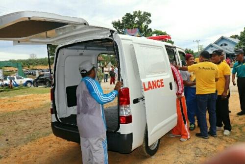 Desa di Pelalawan Ini Patut Dicontoh, Mampu Beli Mobil Ambulan Sendiri