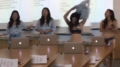 Kesal dengan Komentar Profesor, Mahasiswi Cantik Ini Nekat Buka Baju dan Celana Saat Ujian Skripsi, Begini Penampakannya