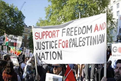 Ribuan Warga London Demo Bela Palestina, Tuntut Diakhiri Blokade Gaza