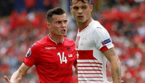 Xhaka Bersaudara, 2 Anak Berbakti yang  Bertarung Bela Negara Berbeda di Piala Eropa