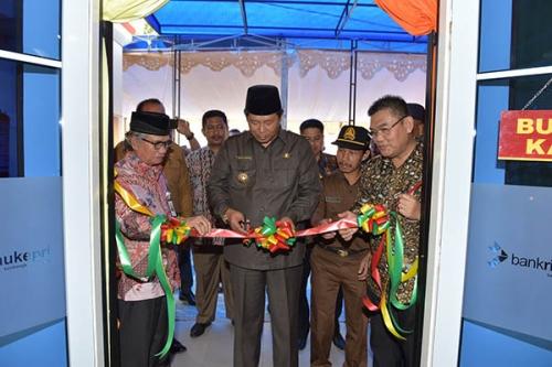 Tingkatkan Layanan, Bank Riau Kepri Buka Kantor Kas ke-41 di Palmatak