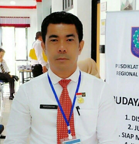 Mursini Tunjuk Mardansyah Sebagai Plt Kepala DPMPTSP Naker Kuansing