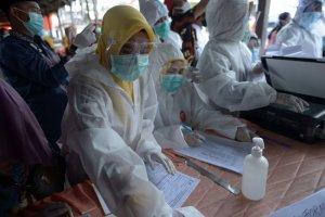 Update Progres Rapid Test di Riau, 554 Orang Reaktif dan Sudah Diswab