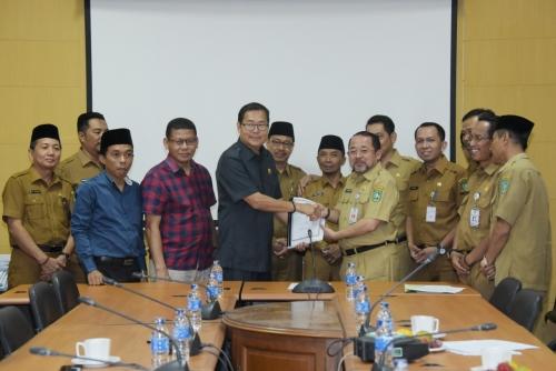 Pemkab Bengkalis Sampaikan KUPA dan PPAS 2019, Ketua DPRD Lega