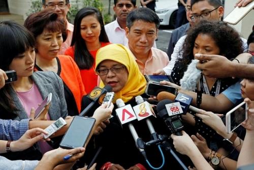 Muslimah Pertama Jadi Presiden Singapura, Ini Profil Halimah Yacob