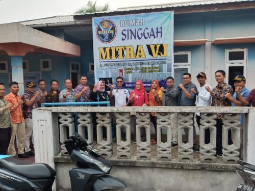 Tim Fact Finding Kemenpora Kunjungi Rumah Singgah Mitra VJ