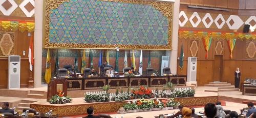 DPRD Riau Umumkan Susunan 8 Fraksi, PPP Nasdem dan Hanura Digabung