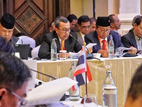 Riau Jadi Gerbang Penghubung Indonesia dengan Asia, Ini yang Disampaikan Syamsuar saat IMT-GT ke-25 di Thailand