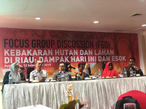Terkait Karhutla Riau, Pijar Melayu Rekomendasikan Lima Hal kepada Gubri